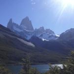 Vista del Cerro Fitz Roy en El Chaltén. Foto tomada por Salto Explorers