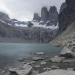 Foto de Torres del Paine, sacada por Floren y Lu el séptimo día de su recorrido en el Parque Nacional