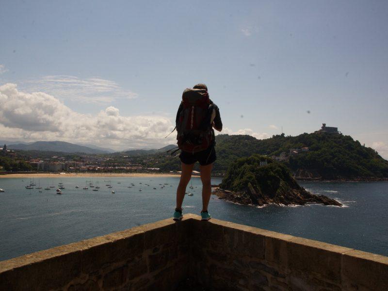 Floren Ferretto en San Sebastián - Viaje de Olga y Floren