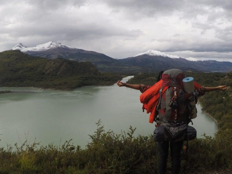 Floren con vistas a dos lagos en Torres del Paine